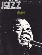 JAZZ JOURNAL MAGAZINE 1971 AUG LOUIS ARMSTRONG, ROY ALDRIDGE, MONTREAUX 71