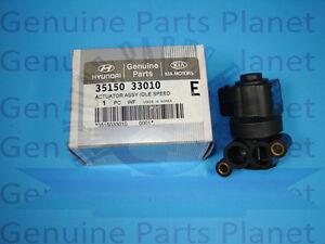 GENUINE HYUNDAI 3515033010 VARIOUS MODELS ACTUATOR ASSY-IDLE 35150-33010 !
