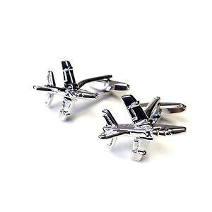 "JustforMoo ""Aviation"" Pair of Small Harrier Cufflinks (214)"