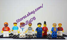 LEGO Custom minifig any Football/Soccer players Design on Demand From $9.99