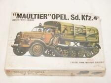1/48 Bandai Maultier Opel Sd.Kfz.4 Half Track Plastic Scale Model Kit Sealed NOS