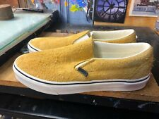 Vans Classic Slip-On (Hairy Suede) Sunflower Size US 9 Men's VN0A38F7ULR New