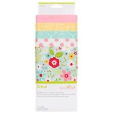 New Arrival Cricut Designer Fabric, Garden Girl Sampler