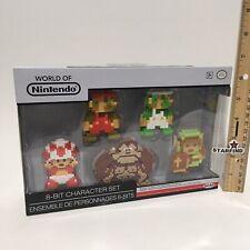 JAKKS Nintendo 8-Bit Mario Luigi Toad Donkey Kong Link Zelda 5 NES Figurines SEE