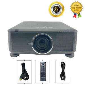 NEC PX750U DLP Projector 7500 ANSI HD 1080p HDMI WUXGA Large Venue w/bundle