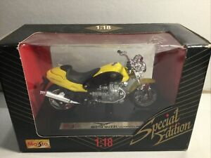 Maisto Motor Cycles Moto GUZZI Mint In Box 1:18