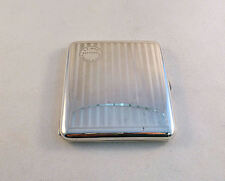 """Best Ever"" Sterling Cigarette Case LJ Joon Tjimahi Souvenir"