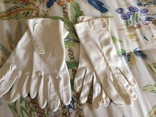 2 Pair Vintage Ladies White Evening Gloves 1 Pair STETSON other no tags
