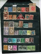 PERFINS -36+ G.B, FRANCE, HOLLAND, DENMARK, EIRE, CANADA,& USA++ USED LOT P10