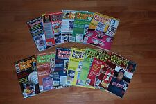 Lot of (12) Different 'Baseball Cards Sports Collectors' Magazine' Back Issues
