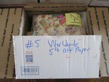 World Kiloware - 5lbs Off Paper - WDWPhilatelic (CZ3ZC) 2