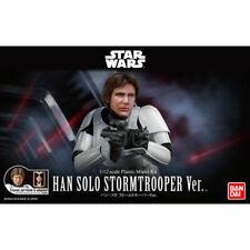 Bandai Star Wars 1/12 Han Solo Stormsrooper Ver Plastic Model Kit Japan 0uo