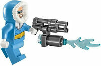 Lego Dc Super Heroes - CAPTAIN COLD Minifigure - Split from set 76026