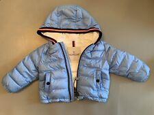 Moncler Baby Blue Puffer Coat 9/12 Months