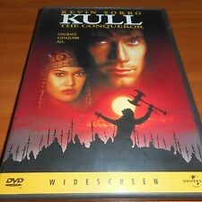 Kull the Conqueror (DVD, Widescreen 1998) Kevin Sorbo, Tia Carrere Used