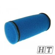 Luftfilter Double Layer Racing lang 28-35mm blau
