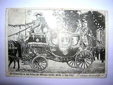 AK Einzug der Herzogin Cecilie Berlin 3. Juni 1905 Original gelaufen 10.6.1905