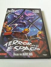 """DVD """"TERROR EN EL ESPACIO"""" 2DVD PRECINTADO SEALED MARIO BAVA 2 MONTAJES ITA INT"""