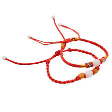 1 Pcs Hand-woven Rope Lucky Red String Bracelet Chinese Feng Shui Bangle Random