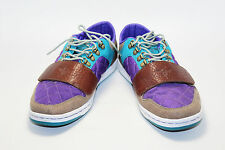Creative Recreation Cesario Low - Brown Purple Turquoise CR4L021-SI0611 Size 8