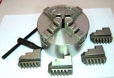 100 mm 4 Mandíbula Centrado Automático Torno Chuck (Ref: K12100) De Chronos