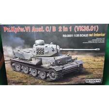 Rye Field 1:35 RS3001 Pz.kpfw.VI Ausf.C/B 2 in 1 (World of Tanks) Model Tank Kit