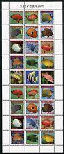 Surinam 2009 Fische Fishes Pesci Poissons 2291-2302 ZD-Bogen Postfrisch MNH