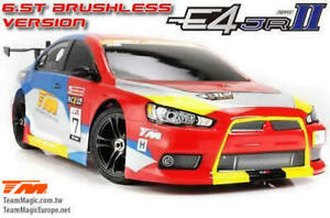Team Magic E4JR II 1/10 Brushless Touring Car EVX rc rtr