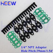 "Thread Turb Billet Turbocharger T3 T4 1/4"" NPT Oil Feed female Flange Adaptor M"