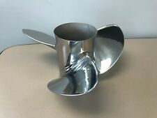 #180 Mercury Reconditioned 48-72500 13 x 21 RH Stainless Steel 3 Blade Prop