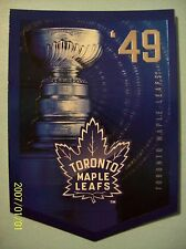 """2012-13 Panini (Molson) """"The Stanley Cup Collection"""" 1949 Toronto Maple Leafs!"""