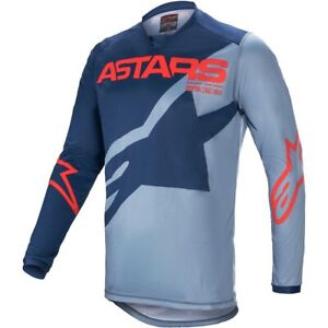 ALPINESTARS 2021 Racer Braap Jersey Racing LT Blue/Blue Yamaha