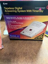 AT&T Tapeless Digital Answering Machine System with Time/Day #1715 New