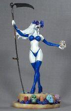 CS Moore Studio Creations - Lady Death La Muerta Azul Variant 1/6 Statue - MIB!