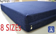 Durable replacement Denim zipper cover + waterproof liner for dog bed pet bed