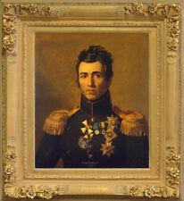 "Old Master Art Man Portrait of Pyotr Kaptsevich Oil Painting Unframed 24x30"""