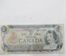 Canada 1 Dollar Bill 1973 Circulated  in Good Condition
