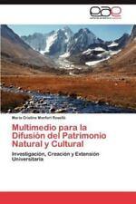 Multimedio Para La Difusion del Patrimonio Natural y Cultural (Paperback or Soft