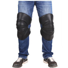Motorcycle Knee Pads Windproof Leg Armor Leg Support Protective Gear PU Leather