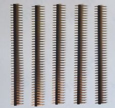 Pin Strip Header Tin 40w 2.54mm Pitch Far 109-8454 - Pack of 5