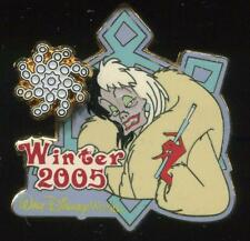 WDW - Winter 2005 Cruella De Vil Surprise LE  PIN 1000 Disney