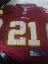 Rare VTG Reebok NFL Washington Redskins Sean Taylor #21 Football Jersey Youth S