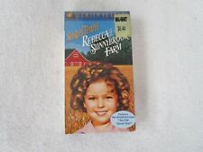 New And Sealed~[ Rebecca of Sunnybrook Farm] Shirley Temple Vhs Video Tape Movie