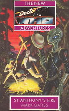 Dr Doctor Who Virgin Missing Adventures Book - St. ANTHONY'S FIRE - (Mint New)