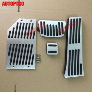 For Hyundai Tucson Santa Fe Sonata IX35 Foot Rest Gas/Brake Pedal Pad Cover Kit