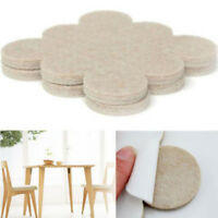 18PCS Furniture Chair Table Leg Self Adhesive Felt Pads Wood Floor Protectors
