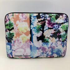 """Nanette Lepore Laptop Sleeve case cover 13"""" floral NWOT super cool!"""