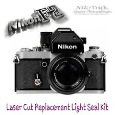 Nikon F2 ~ Replacement Light Seal Kit ~ Laser Cut, Enough for 3 Cameras!