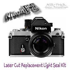 Nikon F2 Kit de sello de luz de reemplazo de ~ ~ Corte Láser, suficiente para 3 Cámaras!