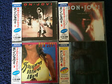 Bon Jovi,4 CDs,Japan Picturedisc Edition,Streng Lim. Erstauflage&Kallender 1989!